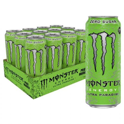 Monster Ultra Paradise 500ml Case 12 Cans (UK)